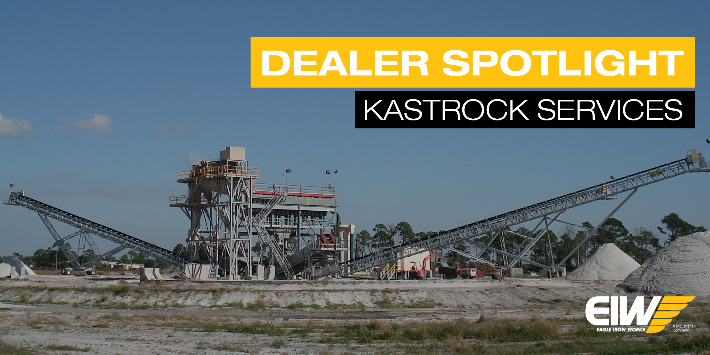 EIW sand plant installed by KastRock Services